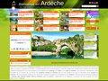 Campings hotels et gites en Ardèche