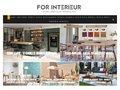 For Interieur - Blog sur la décoration d'intérieur