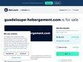 Location de vacances en Guadeloupe : Guadeloupe hébergement